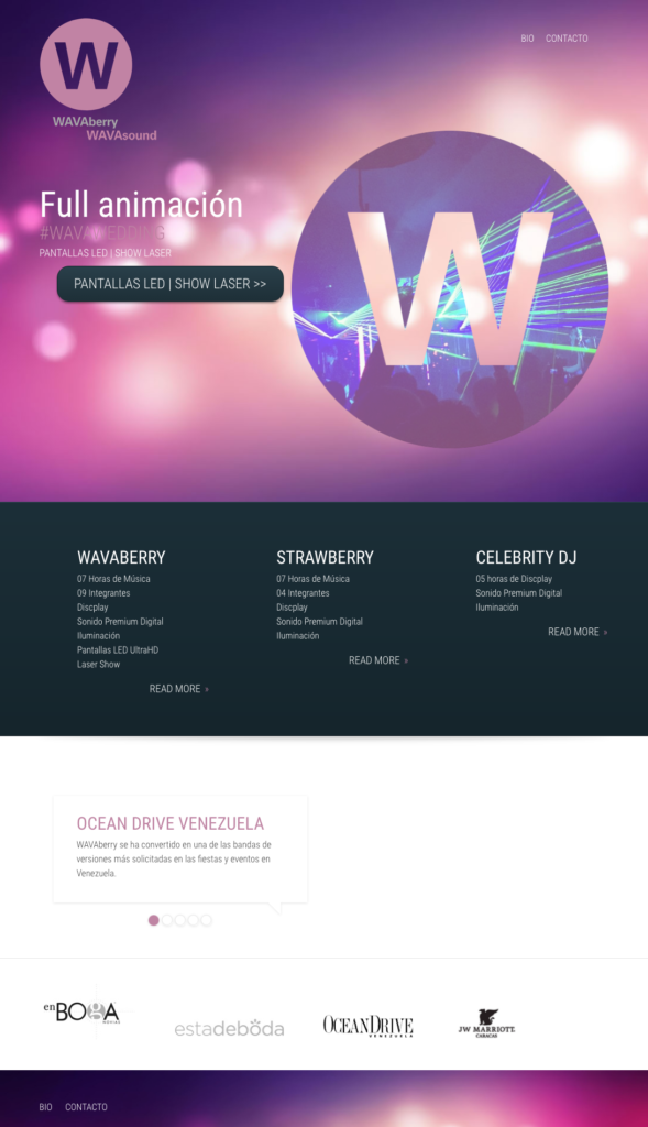 WAVABERRY - Web
