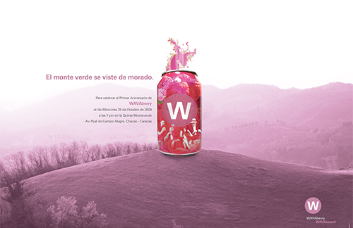 WAVABERRY - Flyer
